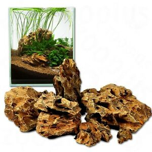 Image Is Loading 15kg ADA Dragon Stone Ohko Aquascaping Aquarium Rocks