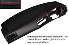 RED STITCH DASH DASHBOARD SKIN COVER FITS VW GOLF MK4 4 IV BORA JETTA 98-05