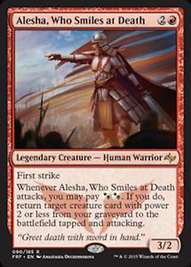 WHO SMILES AT DEATH DECK Modern Recursion Tarkir LOT Custom MTG Magic ALESHA