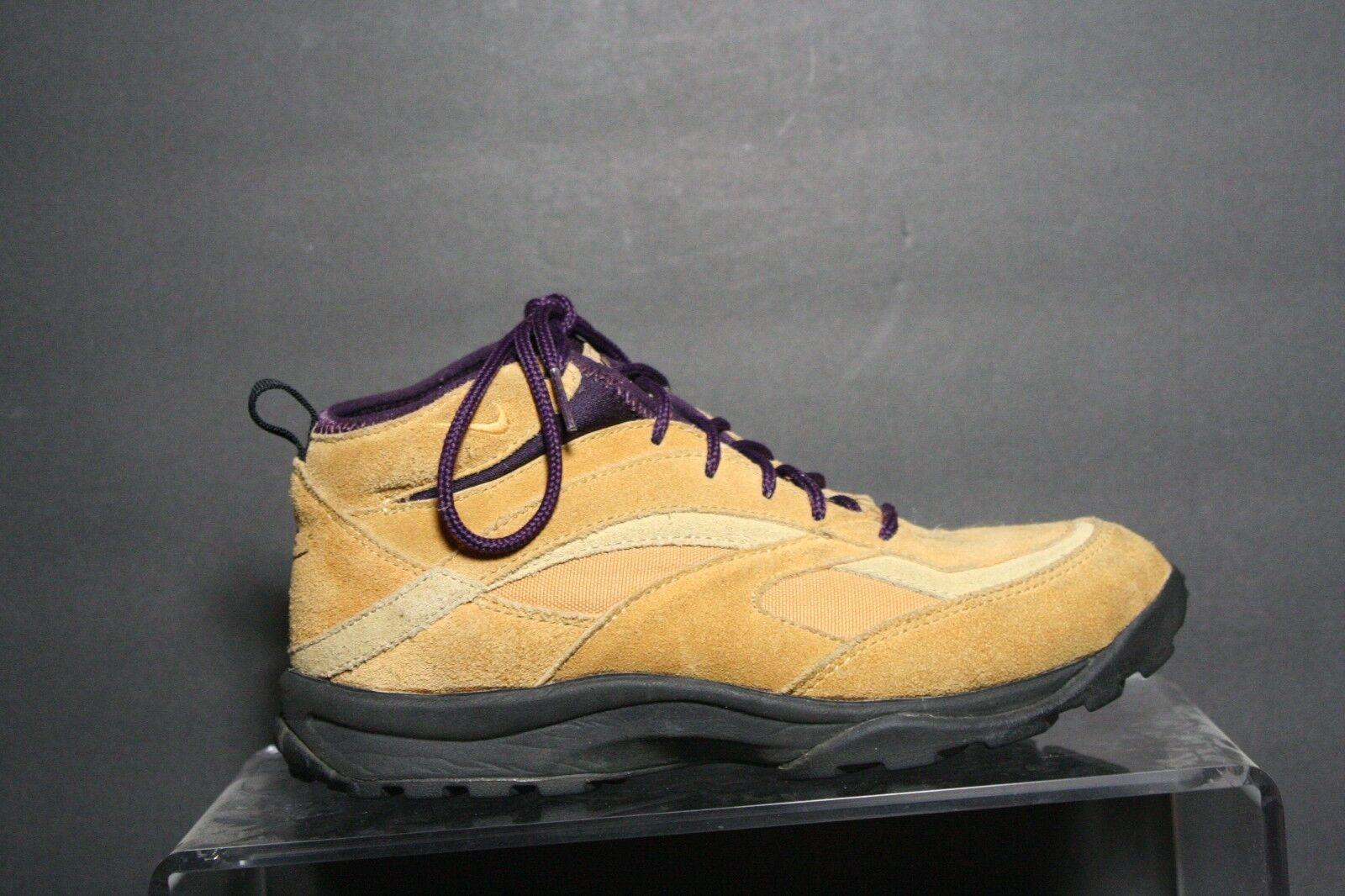 Nike Regrind ACG VTG OG Hiking Sneaker 1993 Mowabb Multi Purple Tan Women 7.5