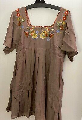 Umgee Women/'s  Boho Dresses in many prints Size SMALL bargain price of $28.99