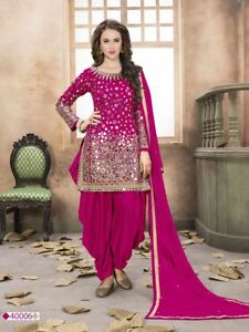 36b6a0d905 Image is loading punjabi-patiala-suit-indian-salwar-kameez-designer-party-