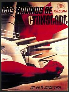 ADVERT-MOVIE-FILM-SAILORS-CRONSTADT-SOVIET-UNION-SPAIN-POSTER-ART-PRINT-BB4669A