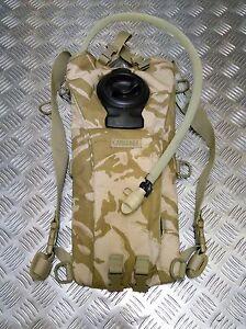 Genuine British Army Issue Camelbak Hydration System DPM or Desert Camo 2.2L