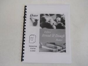 oster bread machine directions