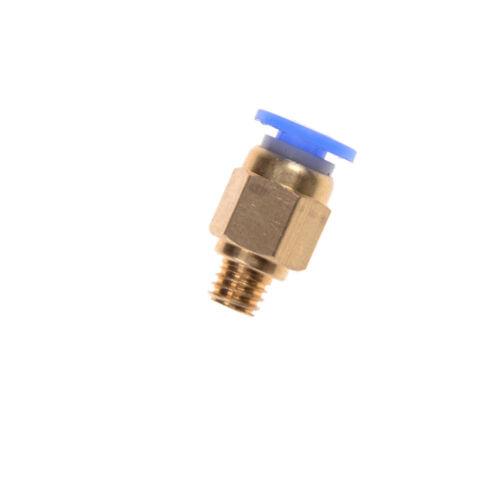 5x PC4-M6 Pneumatischer Anschluss 4mm OD-Schlauch M6 Reprap 3D Drucker YR W0DE