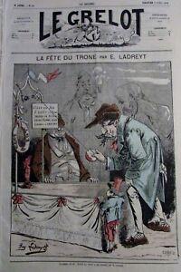 Caricature-Politique-Bonaparte-Fete-the-Throne-Journal-Satirical-the-Jingle-1872