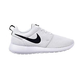 3ed1c42a69f6 Nike Women s Roshe One White Black 844994-101 Sz 5 - 9.5