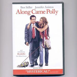 Details about Along Came Polly 2004 romantic comedy movie DVD Ben Stiller,  Jennifer Aniston WS