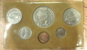 Singapore-1981-Animal-Mint-Set-of-6-Coins-Proof