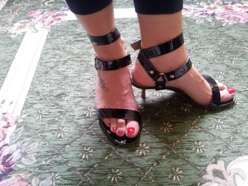 Talon Mon'ro Femme Chaussures Chaussures Sandales Fabriqué Noir Femme Schuhe Ita Cuir fqW4nE7P