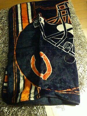 ZEWLLY Football Team Printed Fleece Throw Blanket 50 x 60