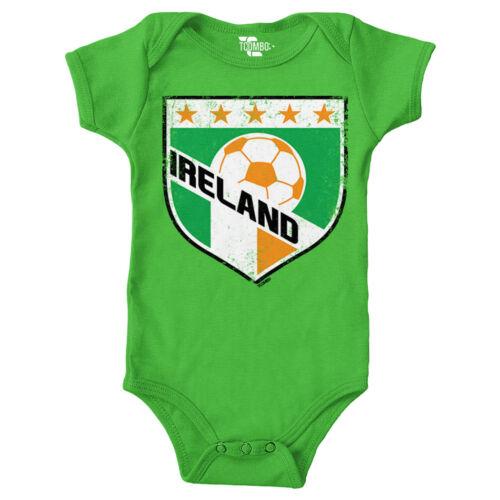 Ireland Soccer Football Futbal Club Team Sports Ball Infant Bodysuit