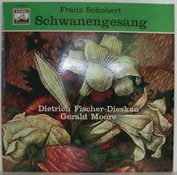 """FRANZ SCHUBERT SCHWANENGESANG DIETRICH FISCHER-DIESKAU GERALD MOORE 12"""" LP f411"""