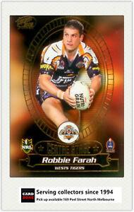 2005-Select-NRL-Power-Survey-Card-CS1-Robbie-Farah-Tigers