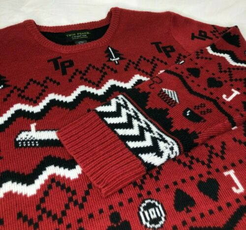 TWIN PEAKS DAVID LYNCH UGLY CHRISTMAS HOLIDAY SWEA