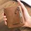 Men-039-s-Zipper-Faux-Leather-ID-Credit-Card-Wallet-Holder-Billfold-Purse-Clutch thumbnail 2