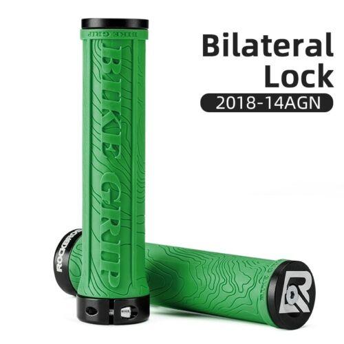 Bike Grips Bicycle Handlebar Rubber Lock-on Ultraight MTB Grips Anti-skid Shock