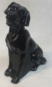 Mosser-Art-Glass-Black-Glass-Dog