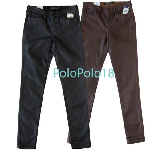 Ralph 4 0 Coated 135 Lauren 12 16 Jeans Skinny da 6 Nuovo jeans 14 8 2 10 qwxRgIA