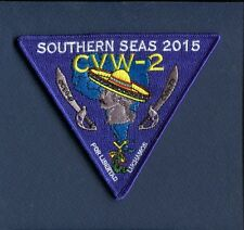 CVN-73 USS WASHINGTON CVW-2 SOUTHERN SEA 2015 US Navy Squadron Ship Cruise Patch