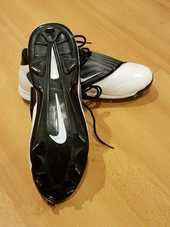nike air swingman leggenda di metallo bianco nero 807130-010 scarpe da baseball 807130-010 nero sz 13 ad5d53