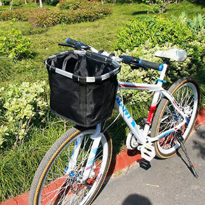 Lixada Bicycle Front Basket Folding Removable Bike Handlebar Basket Pet Cat L8M0