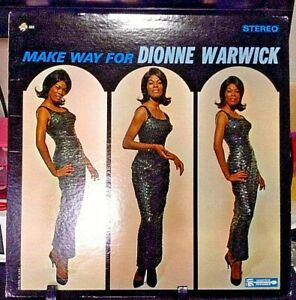 DIONNE-WARWICK-Make-Way-For-Dionne-Warwick-Album-Released-1964-Vinyl-Record-USA