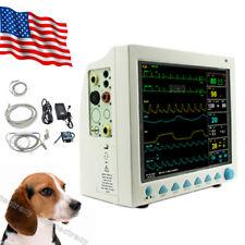 Usa Fedex Vet Icu Ccu Patient Monitor Veterinary 6 Parameter Cms8000 Vetanimal