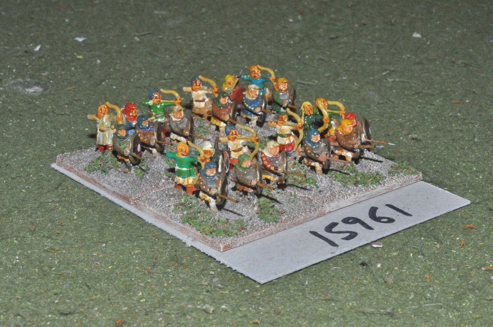 15mm classical     persian - achaemenid infantry 24 figs - inf (15961) 6c89e9