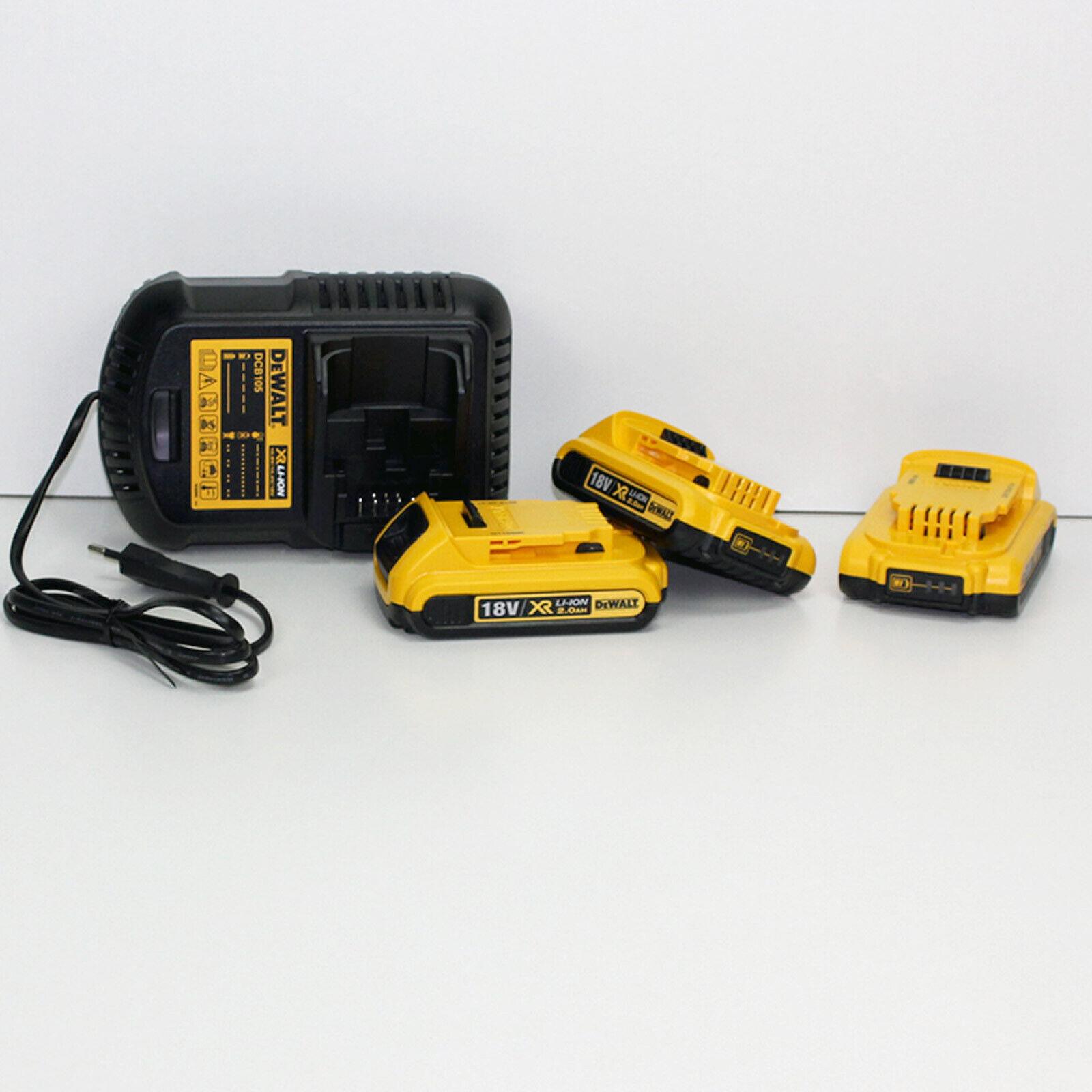 Dewalt 18 Volt Starter-Kit - DCB105D3-QW