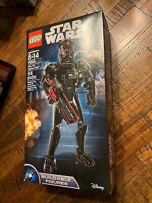 Lego Star Wars 75526 Elite TIE Fighter Pilot Buildable Figure 94pcs New Sealed