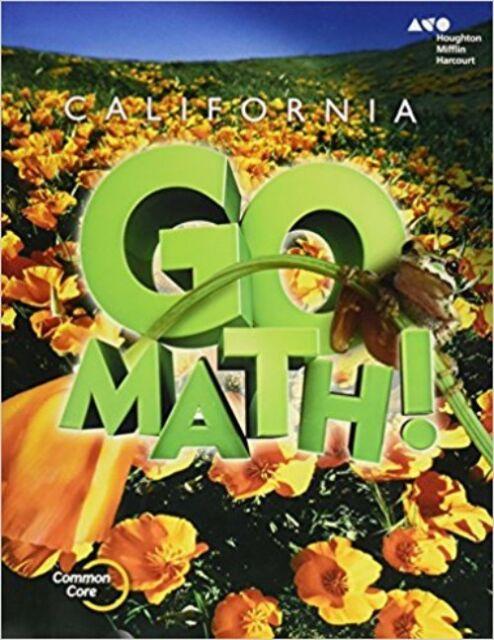 Grade 5 California Go Math Student Edition Worktext 5th | eBay