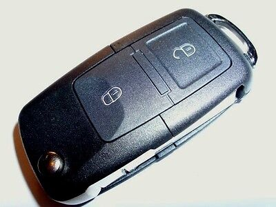 2 BUTTON REMOTE FLIP KEY FOB for VW TRANSPORTER T5 /'06-/'09 /'07-/'09 POLO