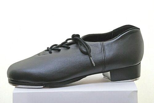 Capezio /'CG19/' cadencia Cuero Tacón Bajo Oxford Zapatos De Tap-TELETONE grifos Equipada
