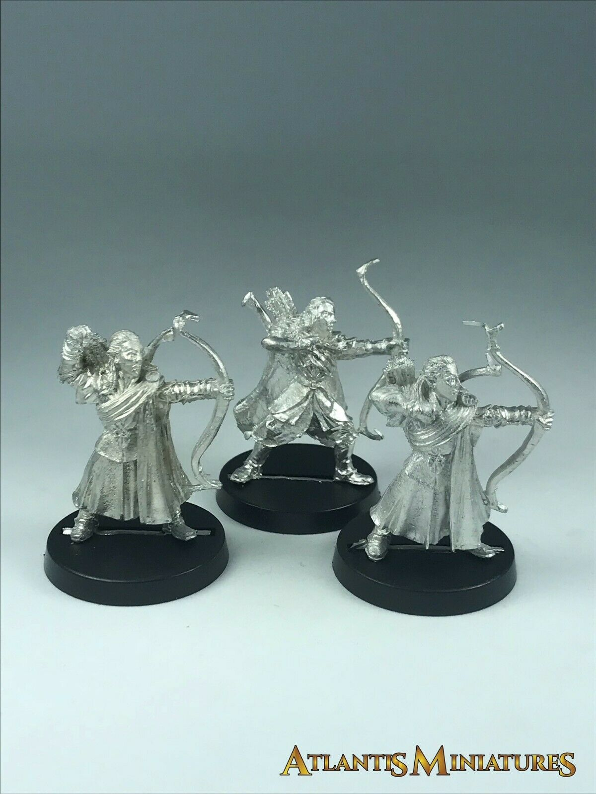 Metal Lothorien Bowmen X3 - OOP - LOTR   Warhammer   Lord of the Rings X452