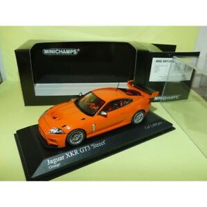 JAGUAR-XKR-GT3-2008-Orange-MINICHAMPS-1-43
