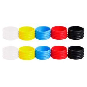 10-Pezzi-Impugnatura-per-Racchetta-Da-Tennis-Anello-nel-Silicone-con-Impugn-Q8Q2
