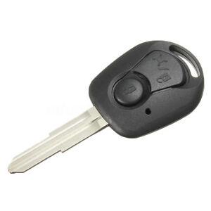 KE-BL-2Button-Remote-Key-Fob-Shell-Uncut-Blade-for-Actyon-Ssangyong-Kyron-Re