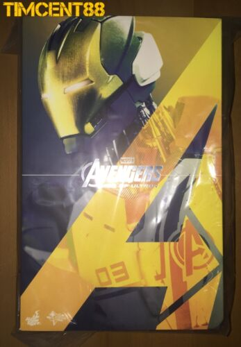 Hot Toys MMS299 Avengers Age of Ultron Iron Legion Figure 1//6 New Ready