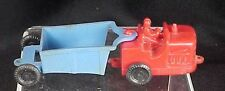 Vintage Wannatoys Plastic Earth Mover Two Pieces Blue Red Toy