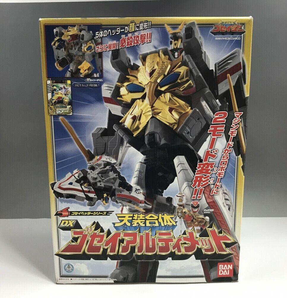 Energia Rangers Tensou Sentai Goseiger DX Gosei Ultimate Megaforce  Japan z014  salutare