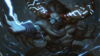 Video Game  World Of Warcraft Silk poster 24 X 14 inch wallpaper