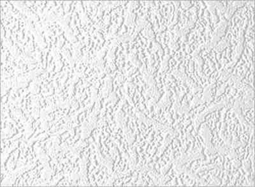 RD914 Anaglypta Classics Leigham Plain Textured Paintable White Wallpaper