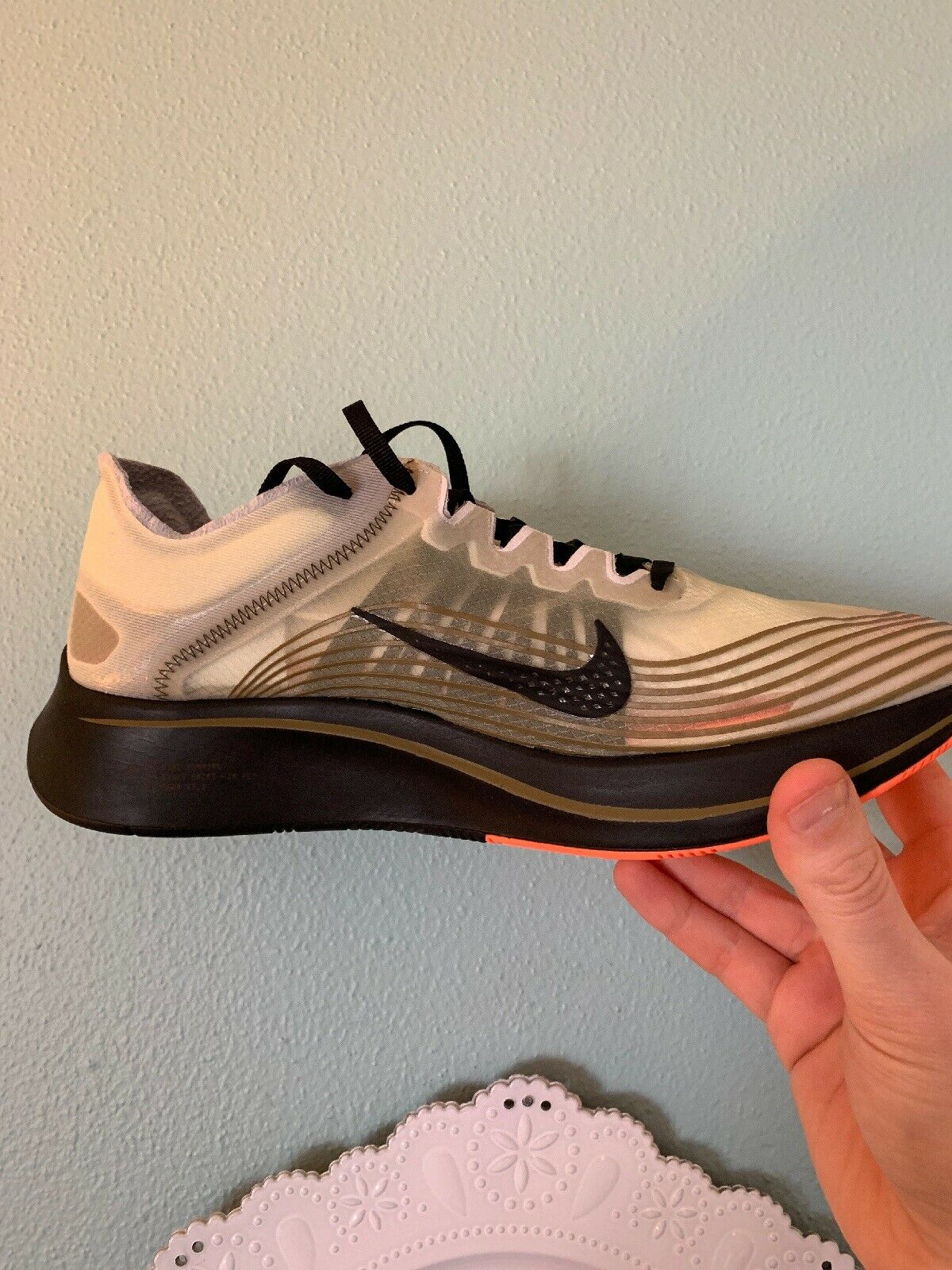 Mens Nike Zoom Fly SP Size 8 (AJ9282 200) No Box