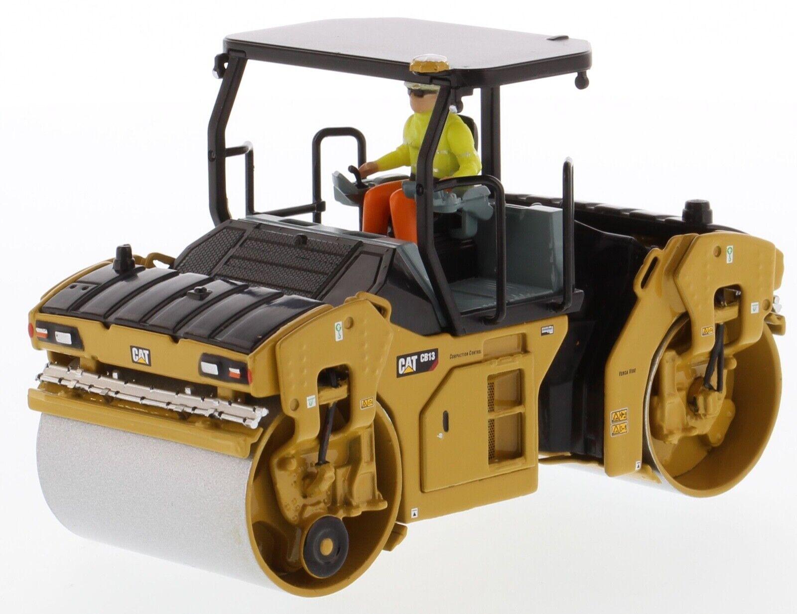 Cat Caterpillar 1 50 scale CB-13 Tandem Vibratory Roll ROPS Diecast Mast 85594