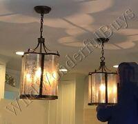 Lantern Pendant Golden Oil Rubbed Bronze Kitchen Island Light Dining Chandelier
