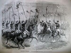CONCOURS-HIPPIQUE-VENISE-FLOTTE-ITALIE-ARCHEVEQUE-MALINES-BELGIQUE-GRAVURES-1875
