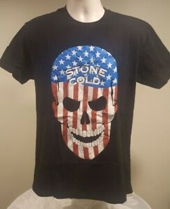 146d9fccf87 Image is loading Stone-Cold-Steve-Austin-Americana-WWE-Authentic-Mens-