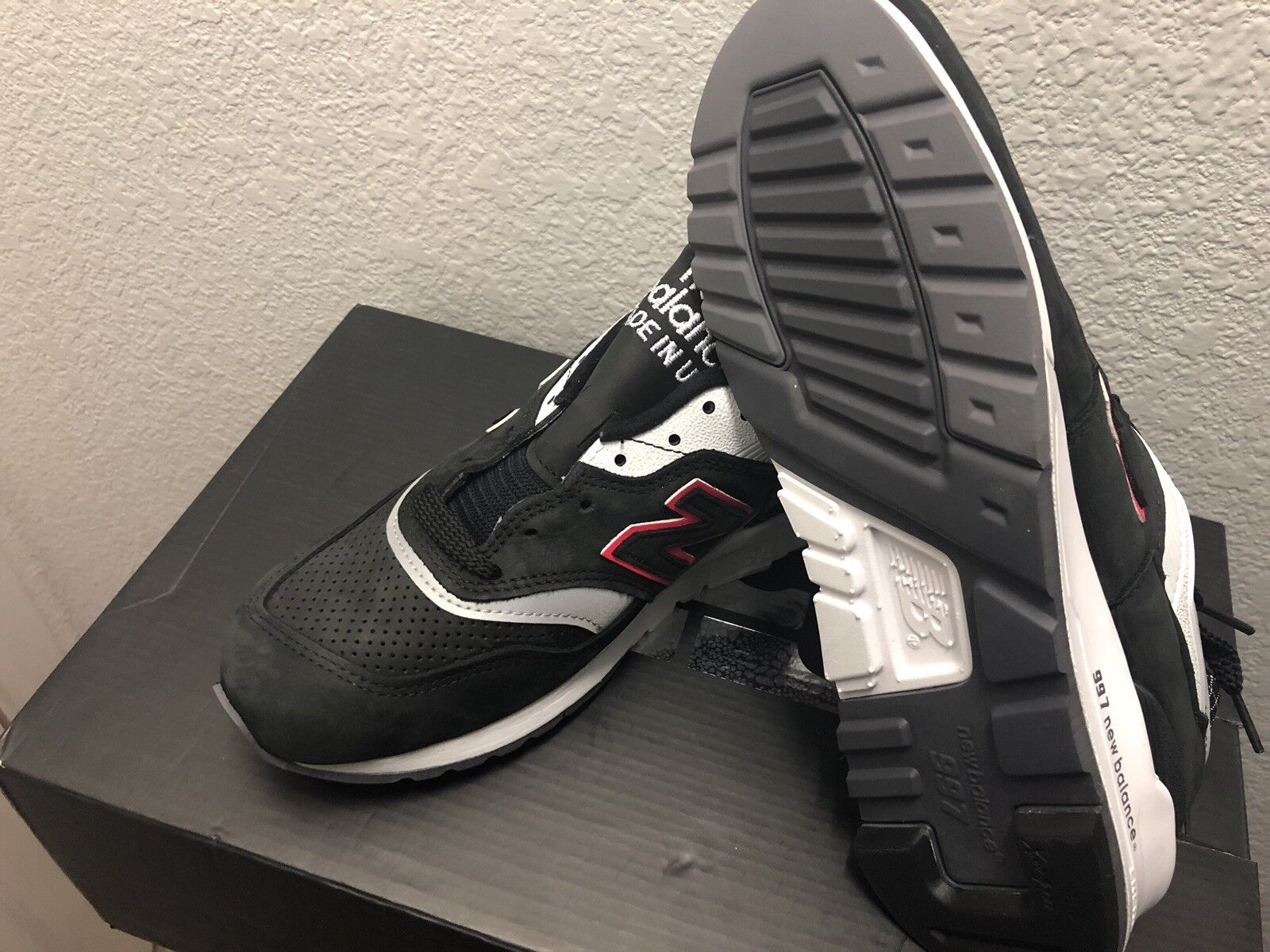 DS New Balance 997 997 997 Men sz6.5 Coloreeee Spectrum Kith Ronnie Fieg Made in USA M997CR 7ee731